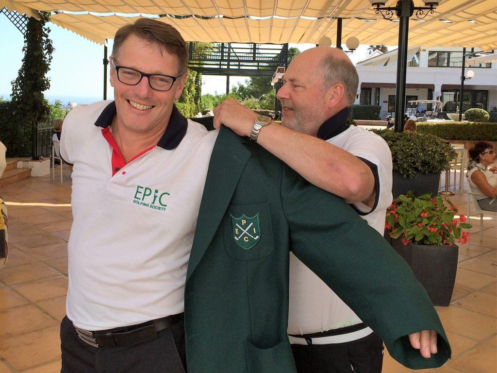 David Jenkins - Green Jacket Winner